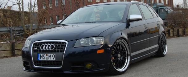 Audi a3 sportback 3.2 quattro dsg