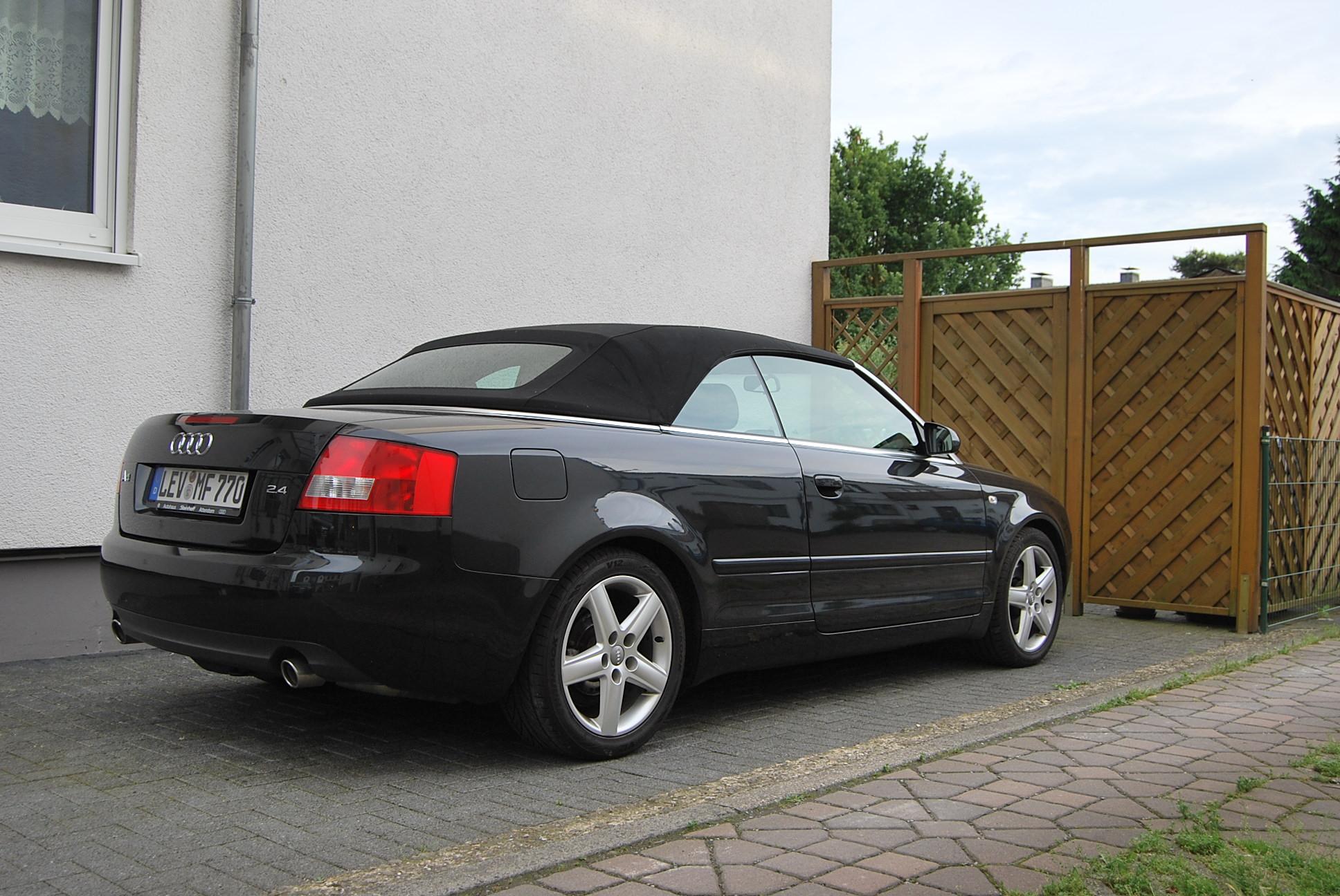 Audi a4 2.4 cabriolet