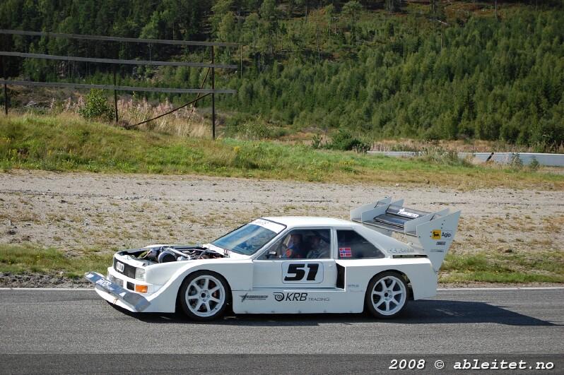 Audi quattro sport replica