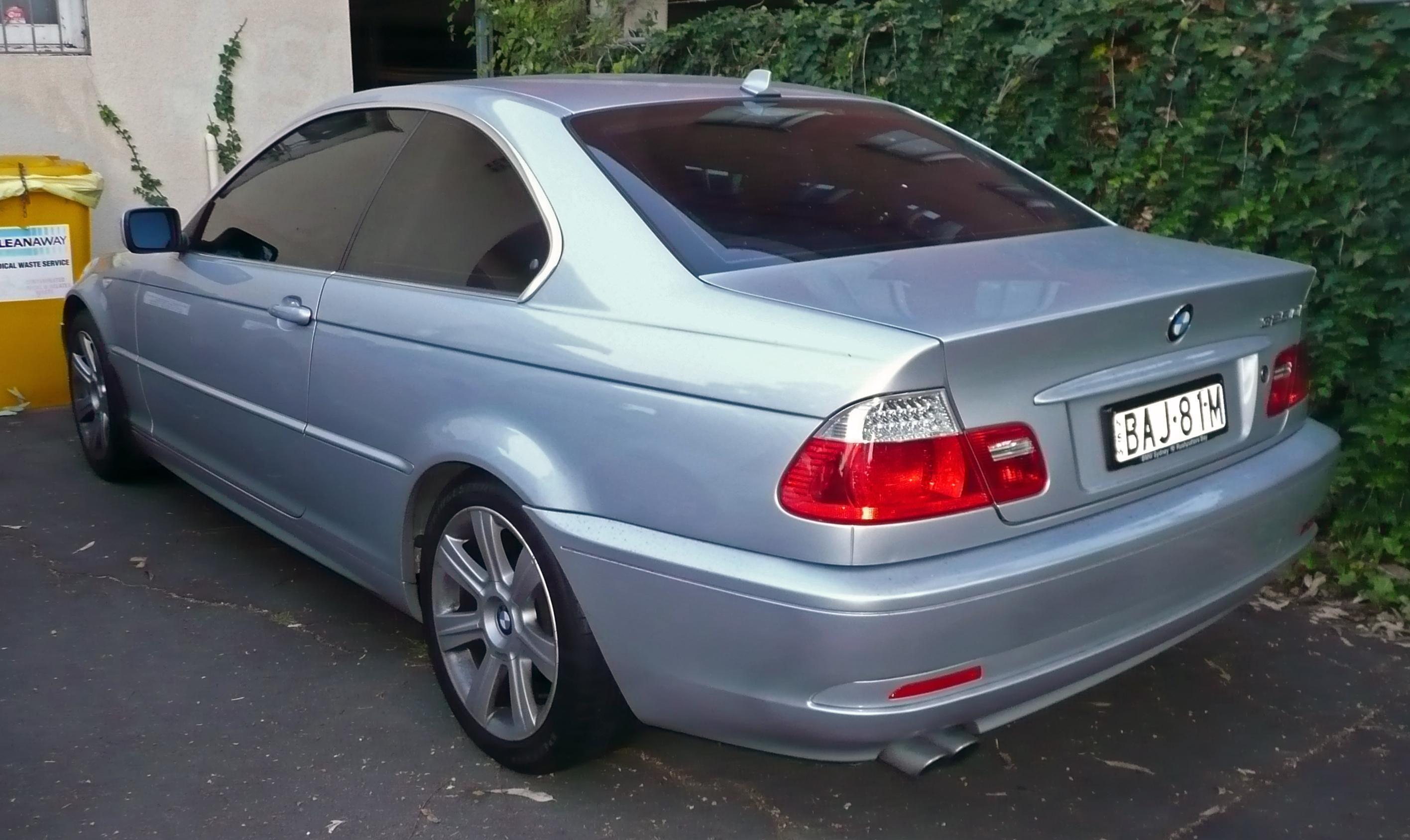 BMW 325Ci (E46)