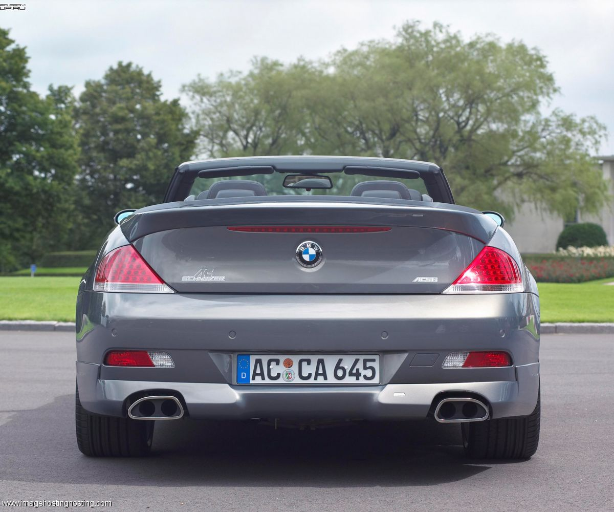 BMW 650i Convertible (E64)