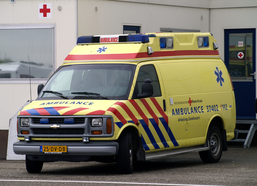 Chevrolet ambulance