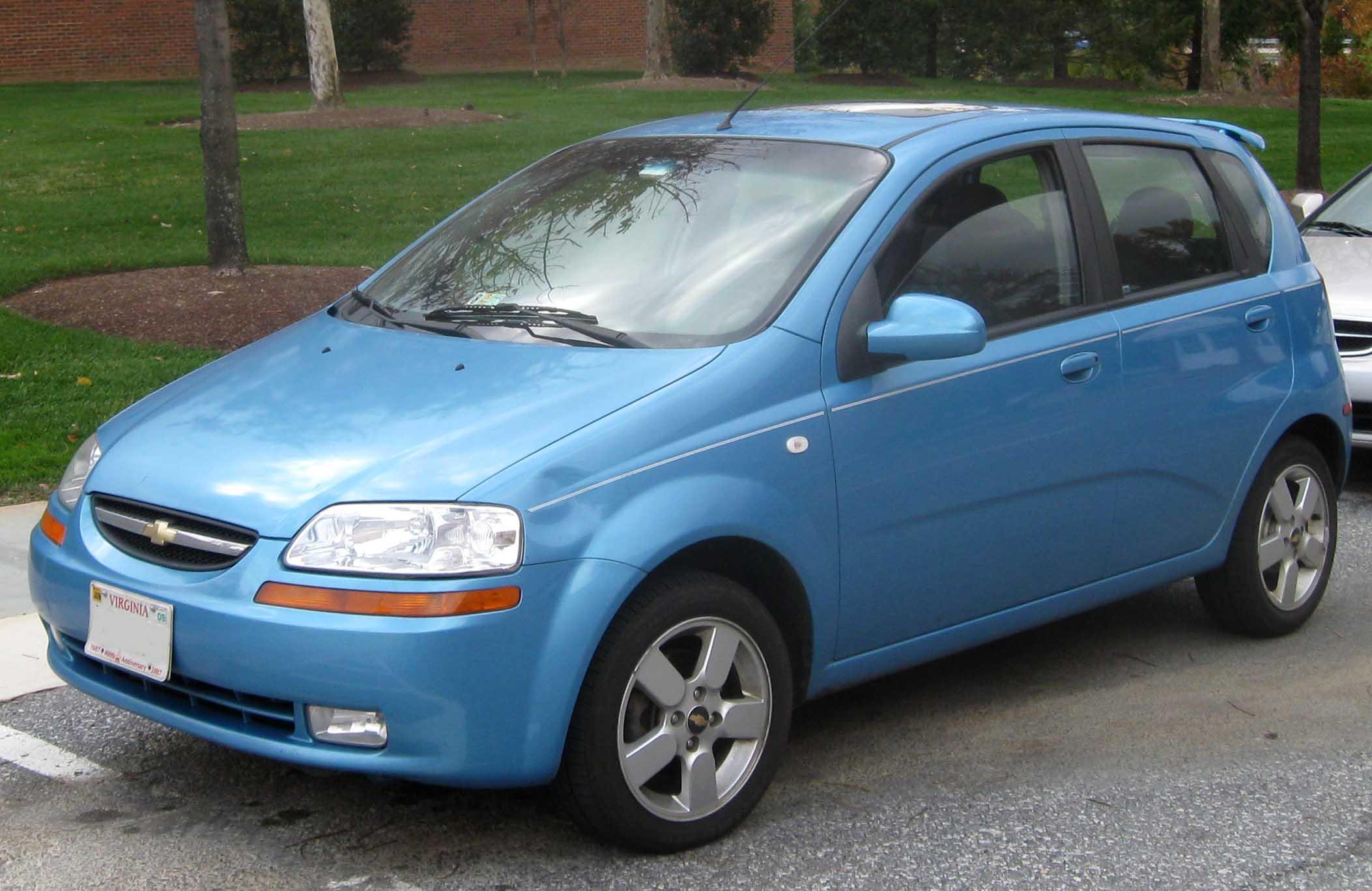 Chevrolet aveo at