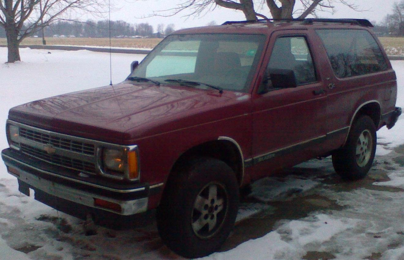 Chevrolet blazer 4wd