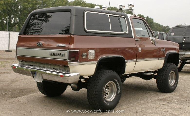 Chevrolet blazer 4×4