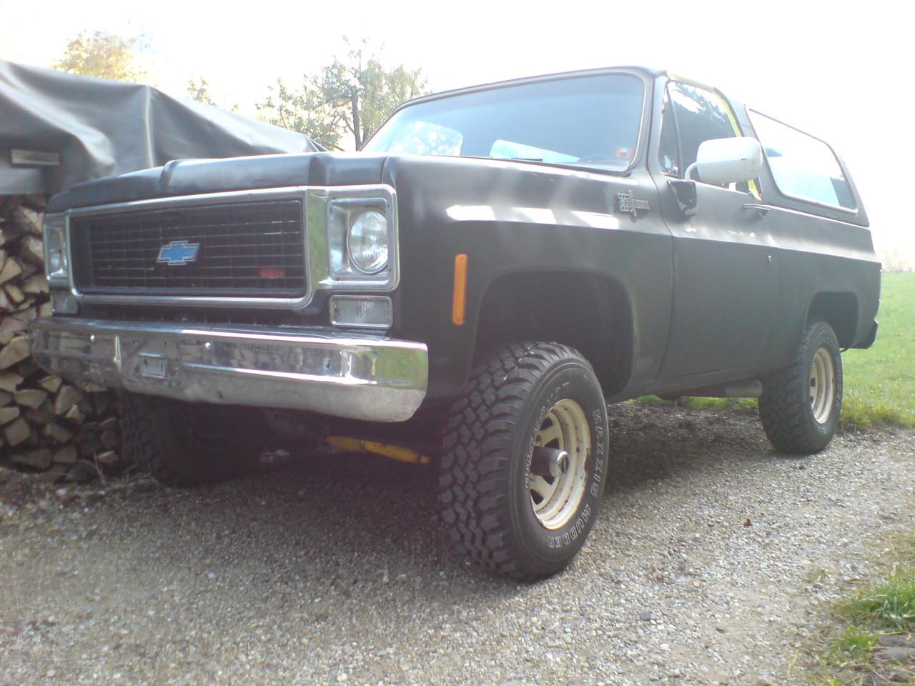 Chevrolet blazer 5.7