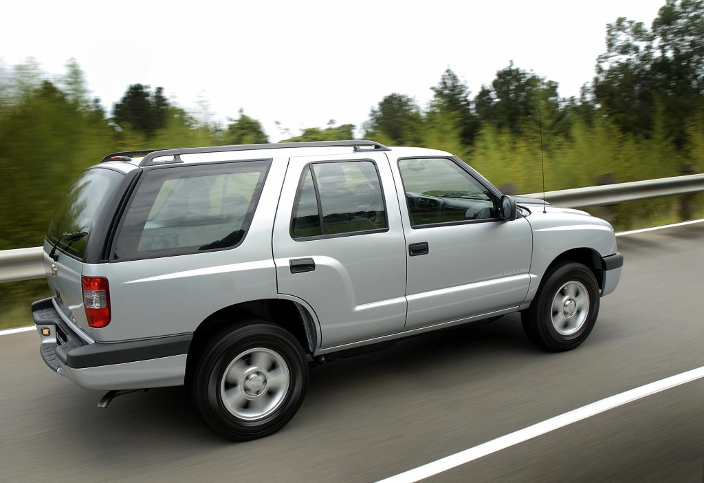 Chevrolet Blazer Executive 10 Details Of Cars On Details Of Cars