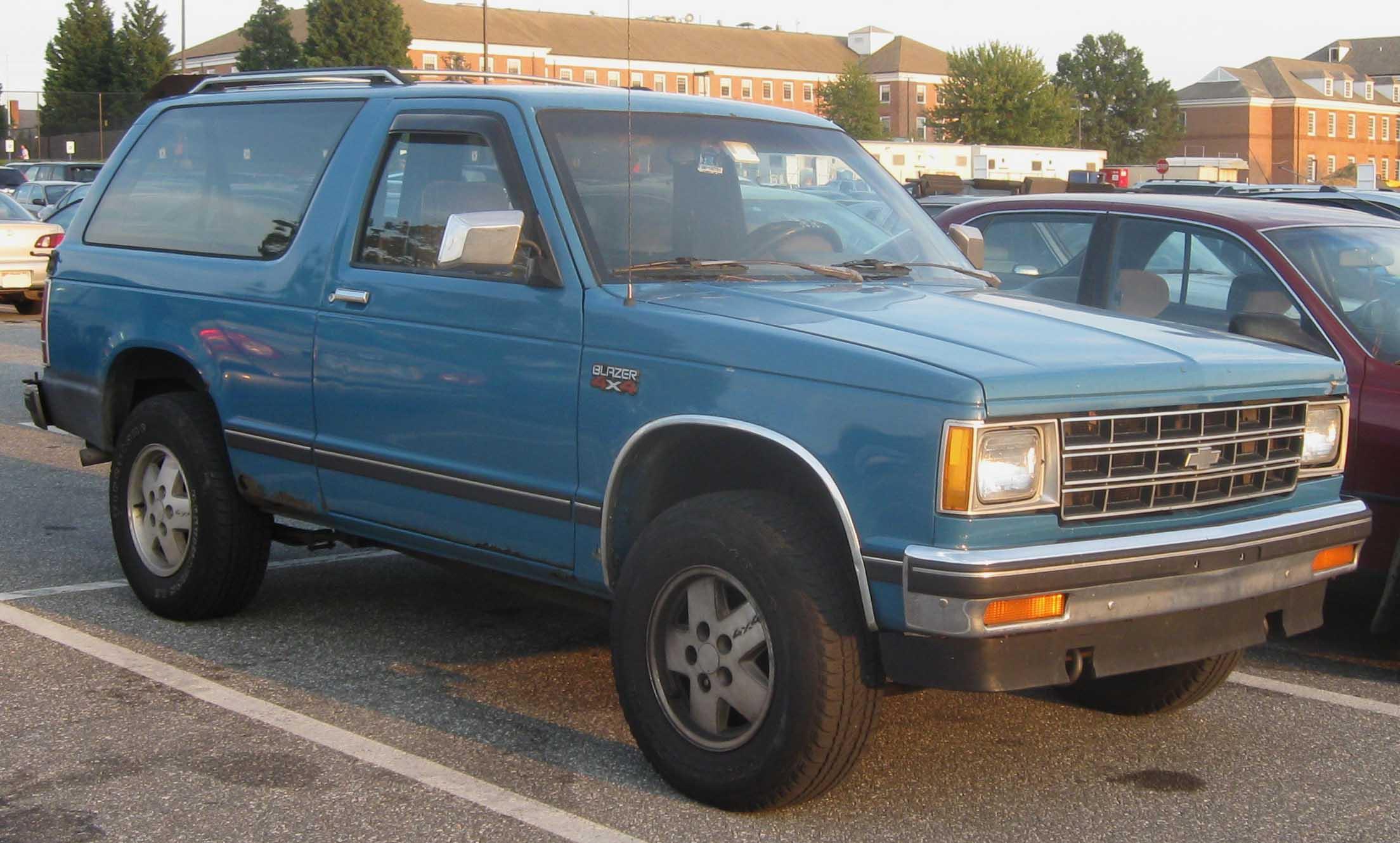 Chevrolet blazer s