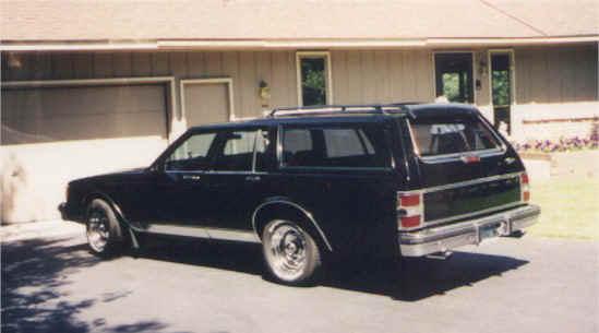 Chevrolet caprice estate