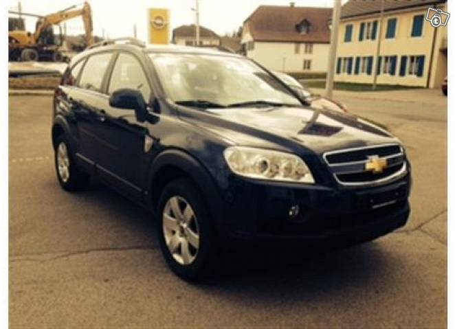 Chevrolet captiva 4wd