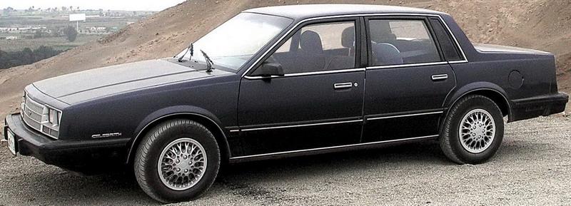 Chevrolet celebrity 2.8