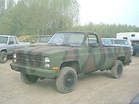 Chevrolet k-30