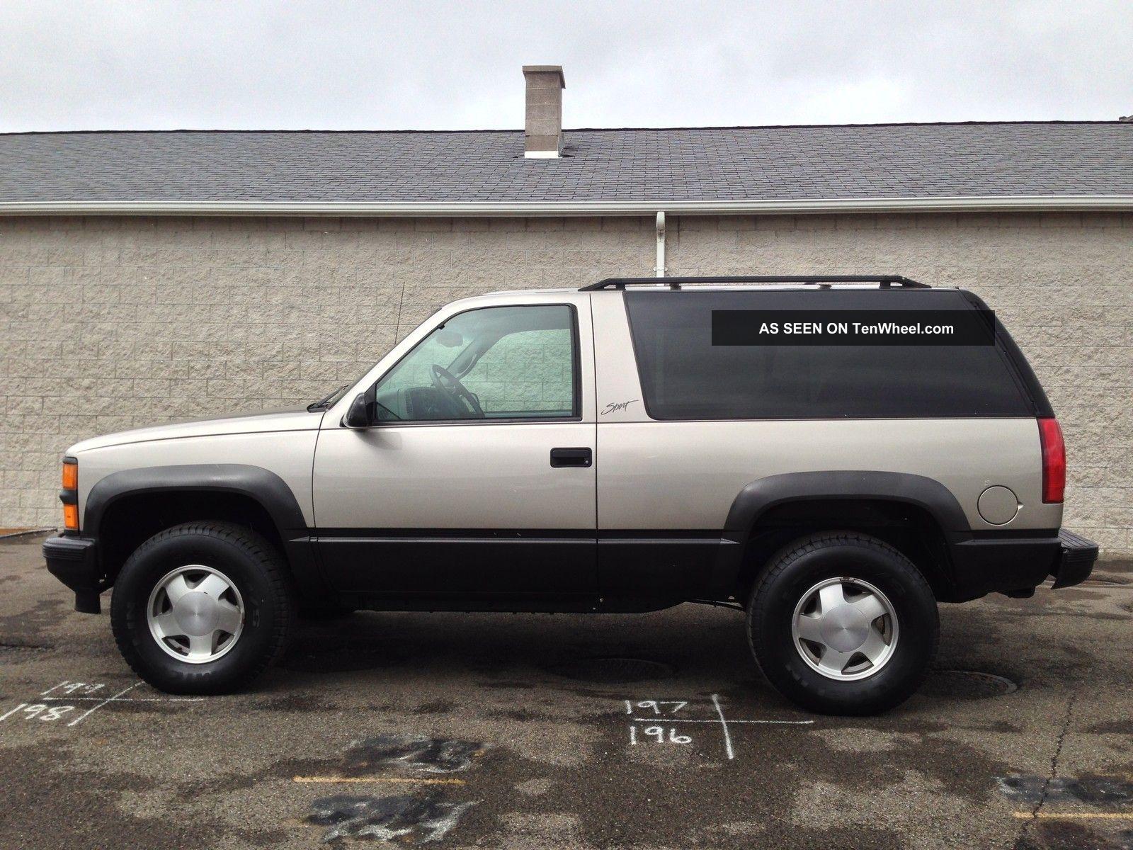 Chevrolet tahoe 5.7