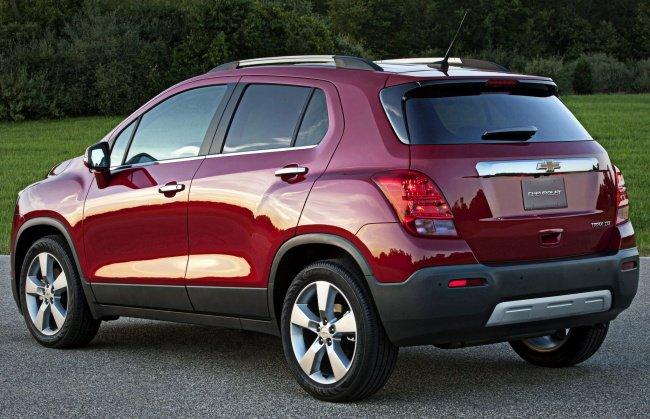 Chevrolet tracker 1.6