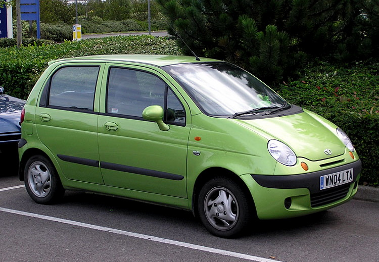 Daewoo matiz 0.8 at