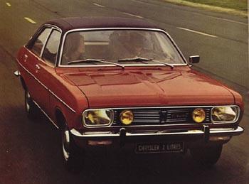 Chrysler 2 litres