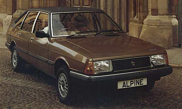 Chrysler alpine