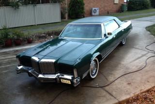 Chrysler new yorker limousine