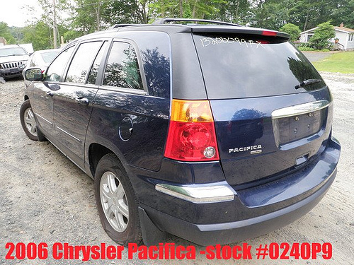 Chrysler pacifica 3.8