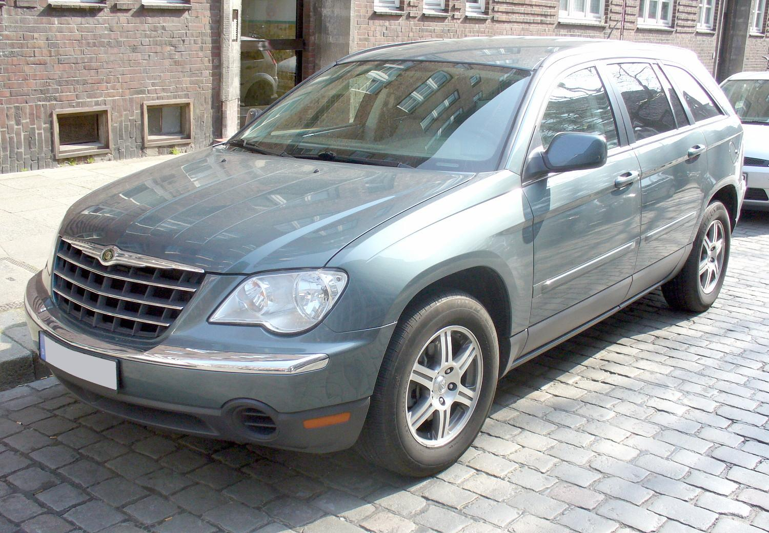 Chrysler pacifica awd