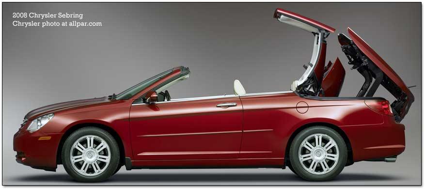 Chrysler stratus convertible