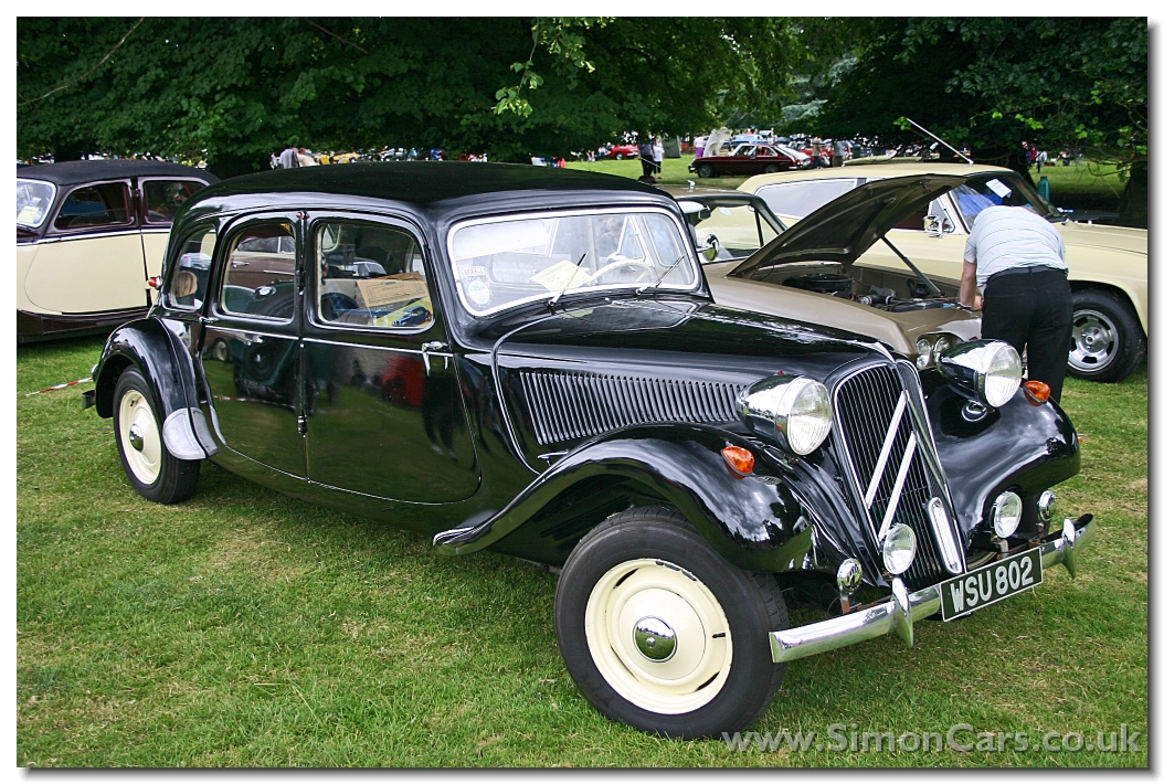 citroen traction 15cv details of cars on details of. Black Bedroom Furniture Sets. Home Design Ideas