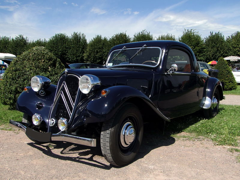 Citroen traction roadster