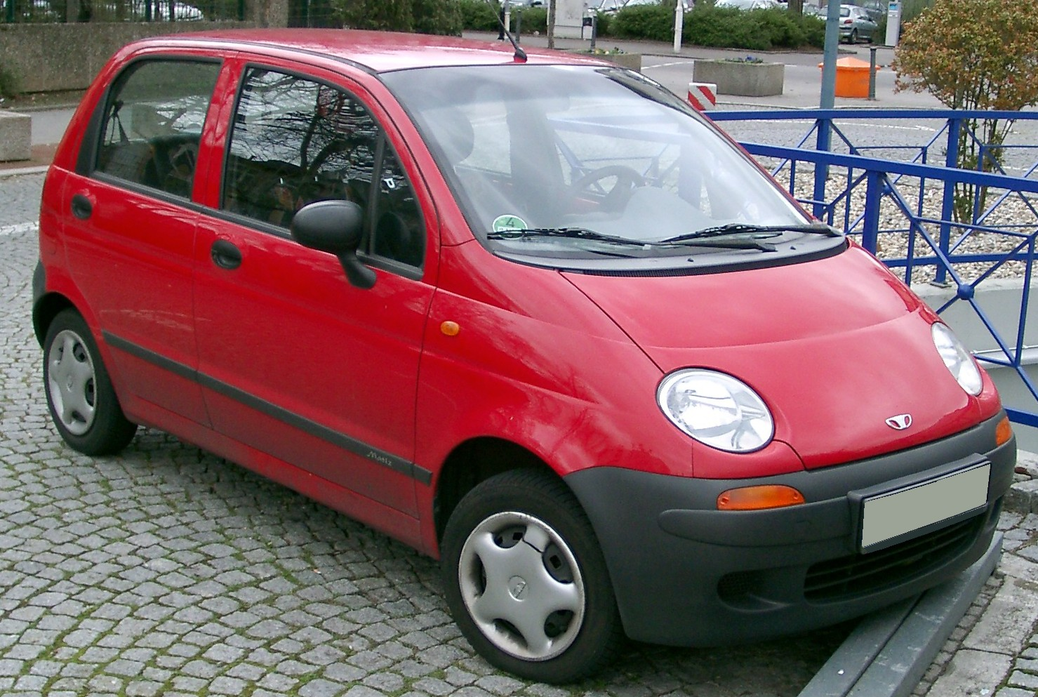 Daewoo matiz at