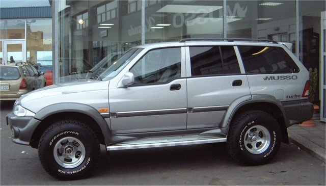 Daewoo musso 3200