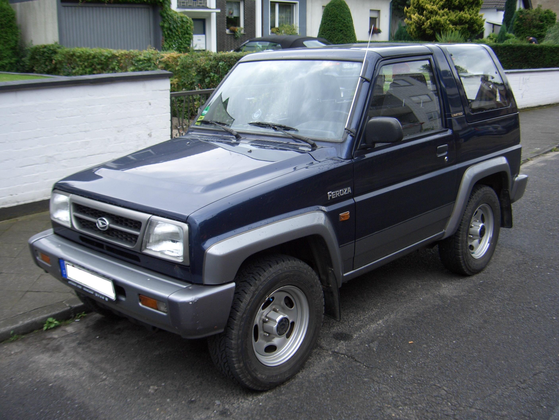 Daihatsu feroza limited