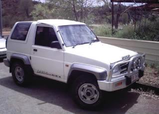 Daihatsu feroza turbo