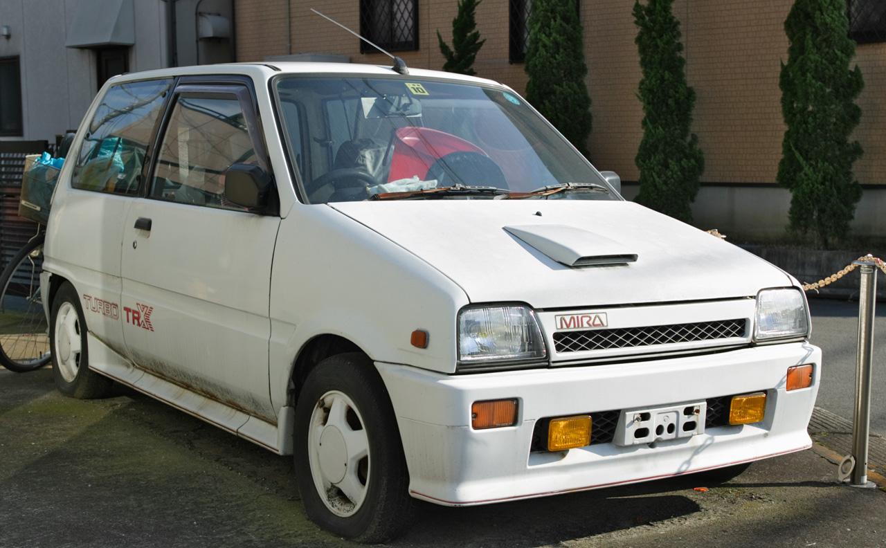 Daihatsu mira tr-xx