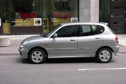 Daihatsu sirion automatic