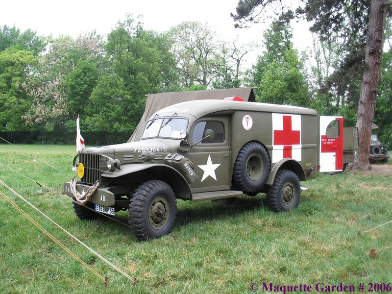 Dodge ambulance