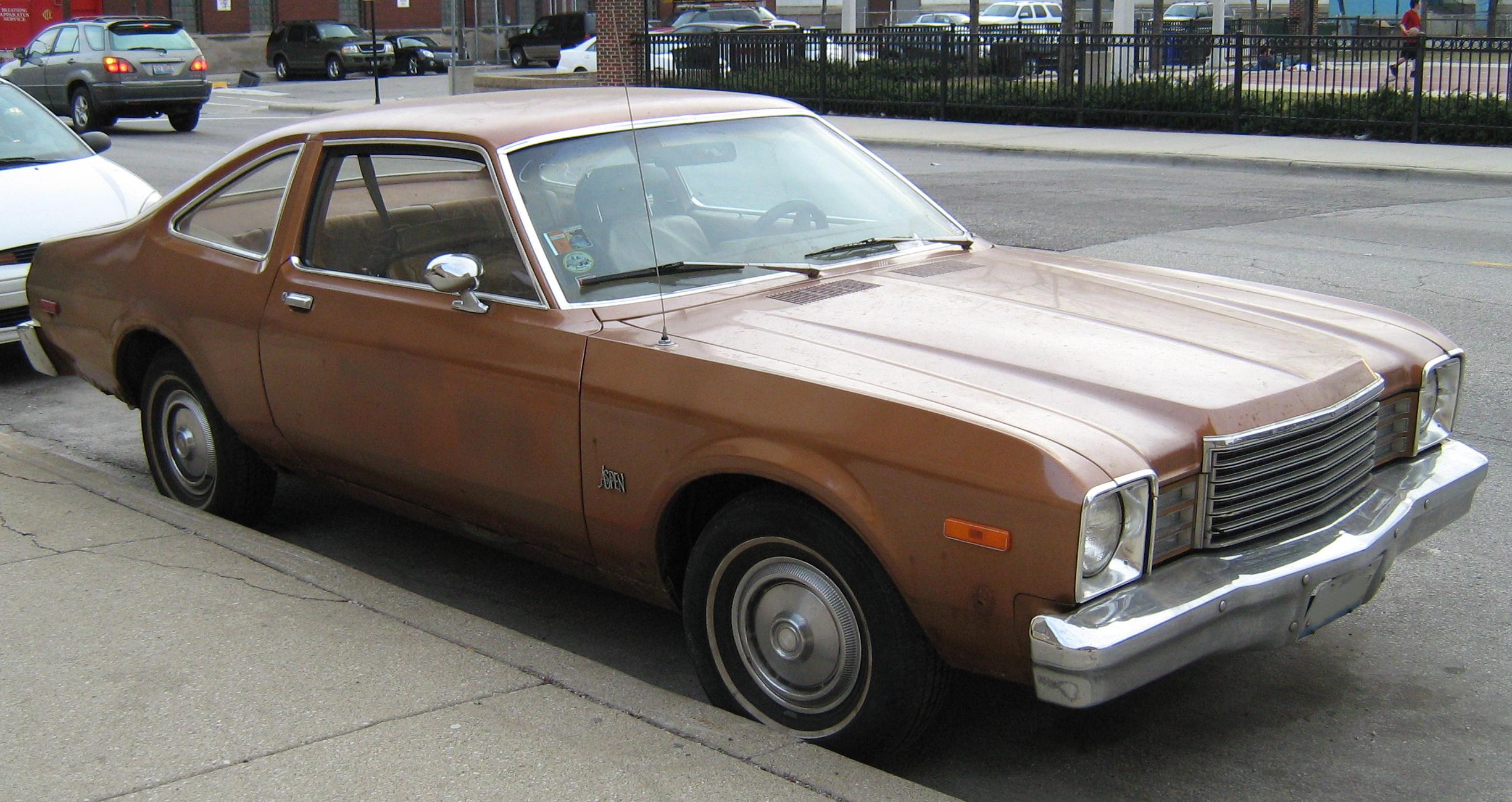 Dodge aspen sedan