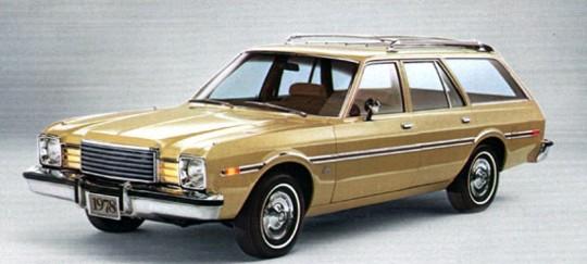 Dodge aspen wagon
