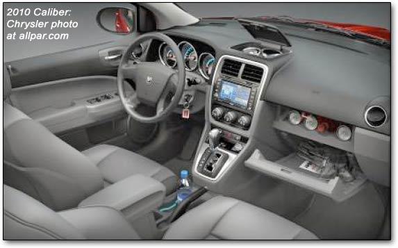 Dodge Caliber Sxt on 07 Dodge Caliber Interior