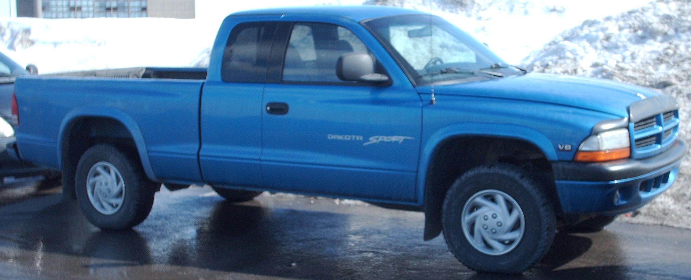 Dodge dakota extended cab