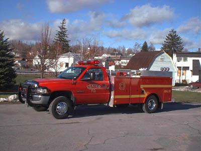 Dodge fire truck