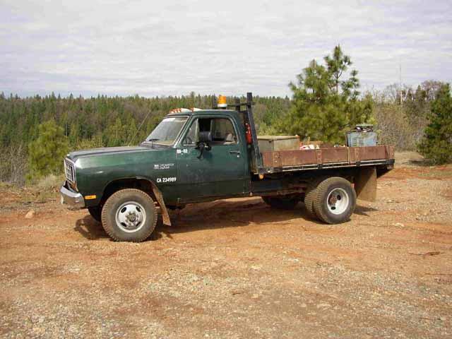 Dodge flatbed