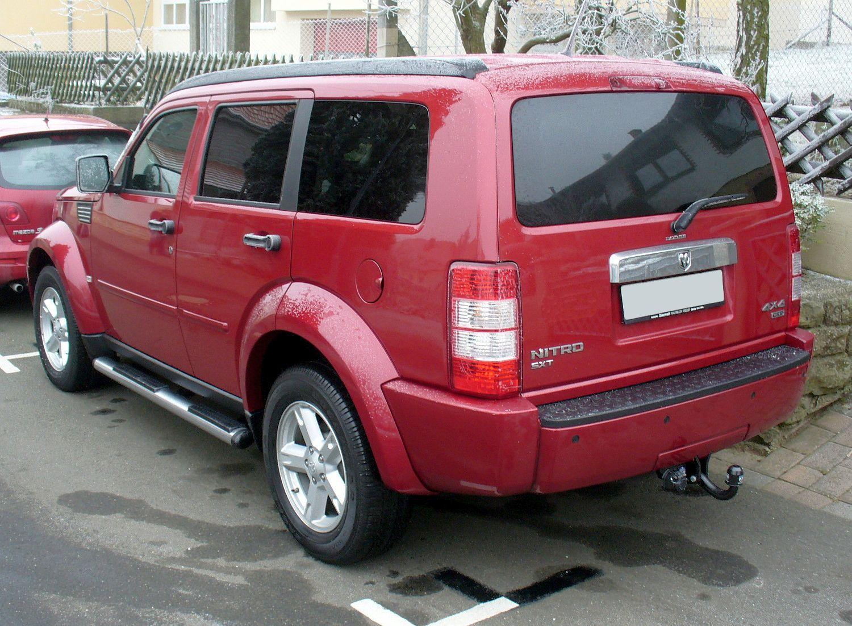 Dodge nitro crd