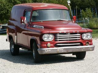 Dodge panel truck