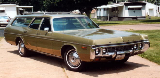Dodge polara wagon