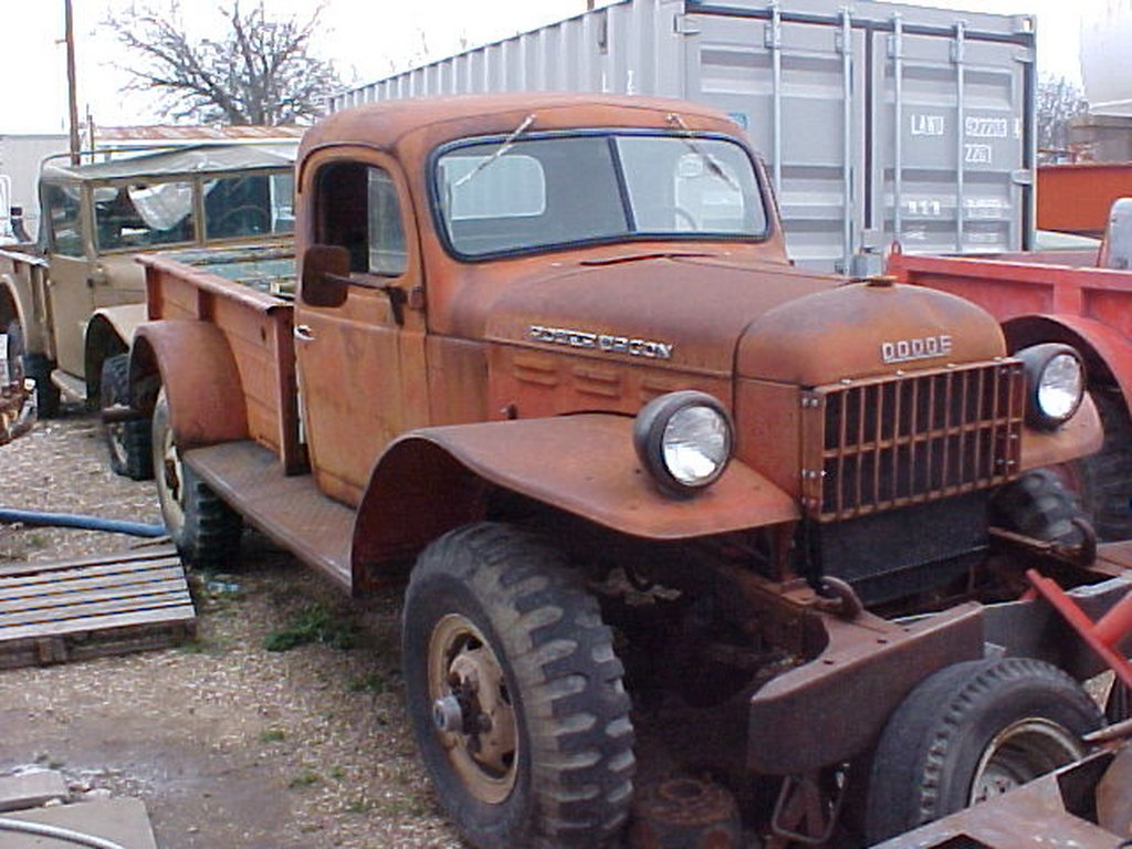 Dodge power wagon wdx