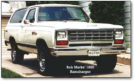Dodge ramcharger 5.9