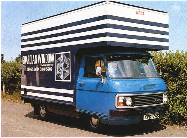 Dodge spacevan