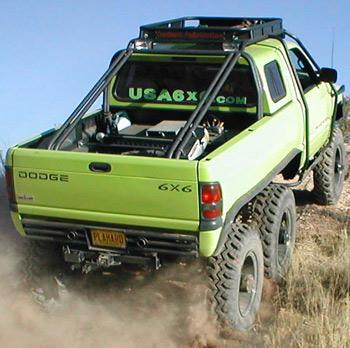Dodge t-rex 6×6