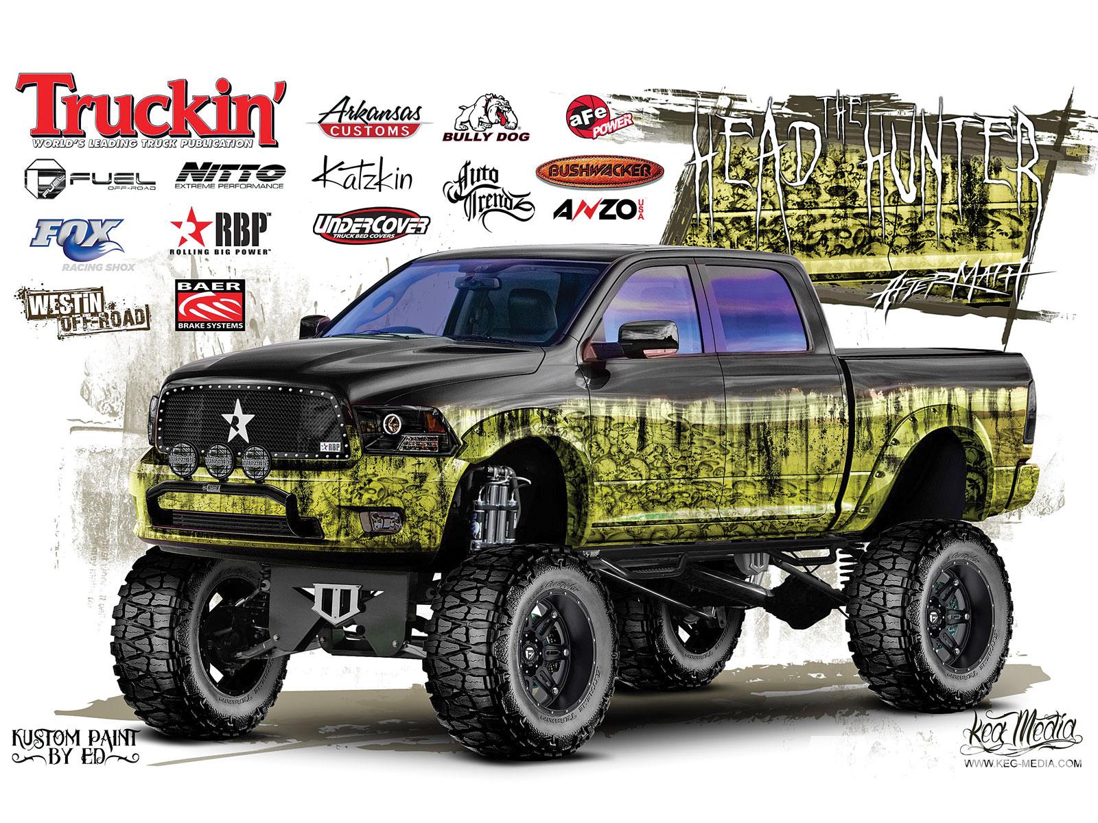 Dodge truck custom