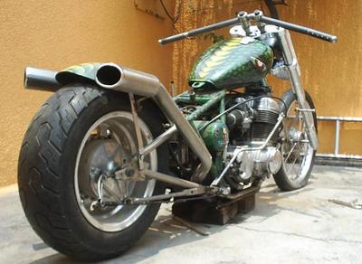 Custom made bike