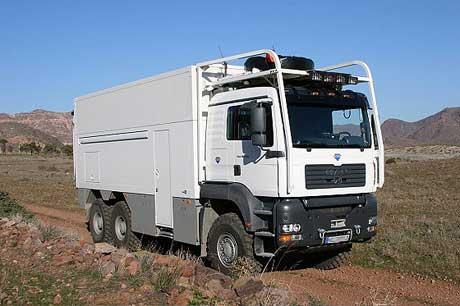 Custom made truck